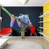 Una simpática rana multicolor