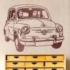 El SEAT 600, un icono de los años 60