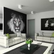 El rey de la selva en casa