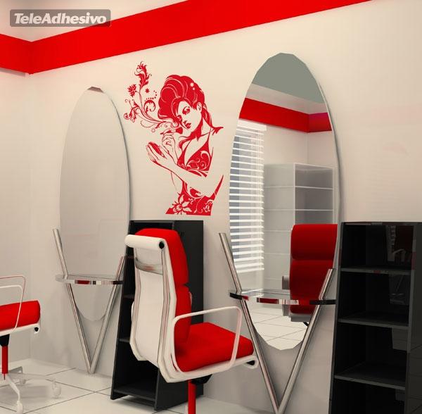 Academia de maquillaje - Salones de peluqueria decoracion fotos ...