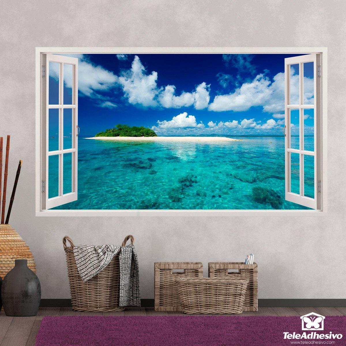 ventana al paraíso