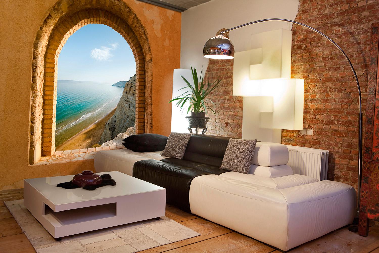 Vinilos decorativos para decorar tu hogar paisajes for Fotomurales pared paisajes