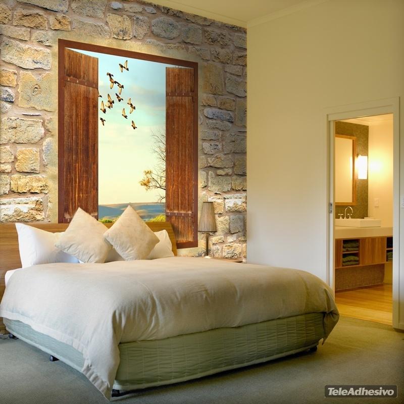Vinilos decorativos para decorar tu hogar paisajes - Fotomurales pared ...