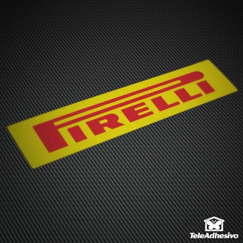pegatina tuning Pirelli