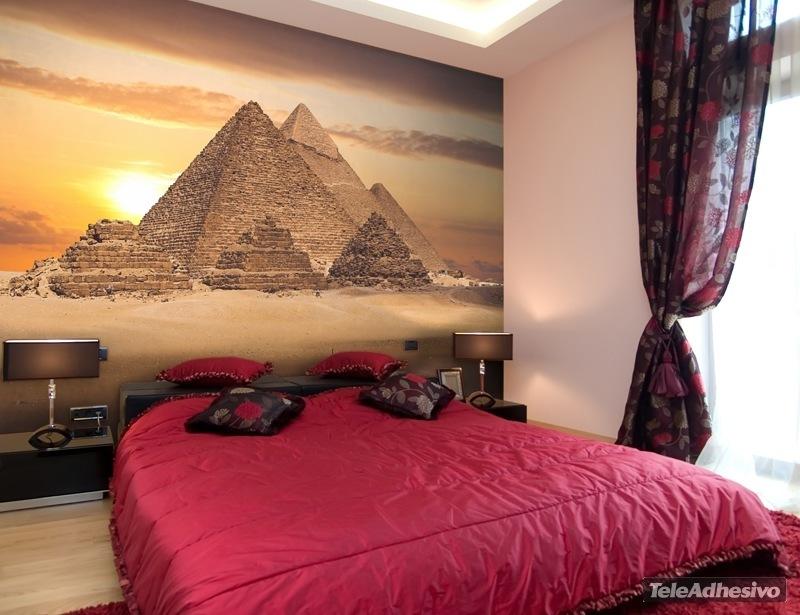 Fotomural decorativo para tu hogar pirámides Giza