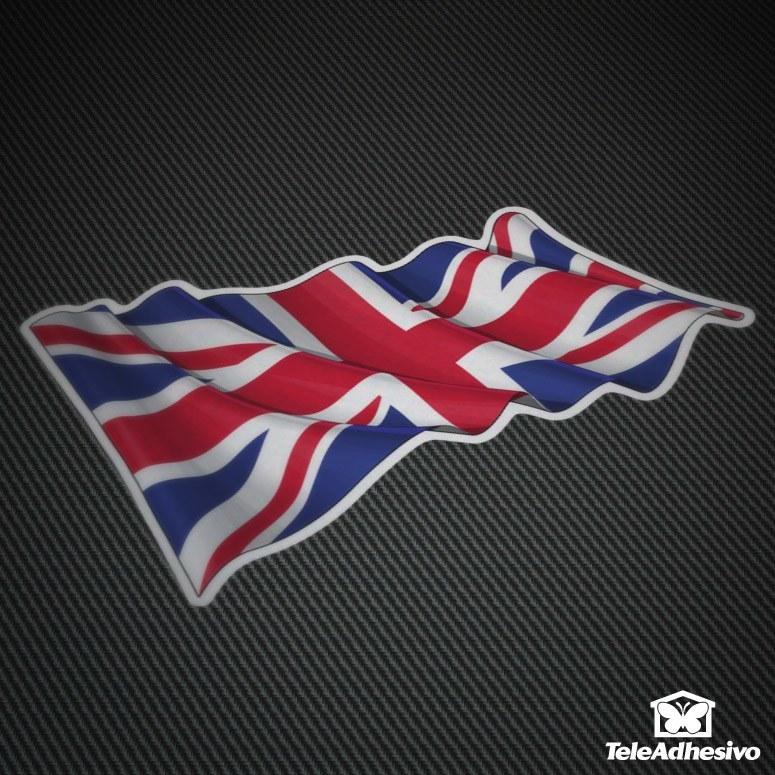 Pegatinas bandera Reino Unido