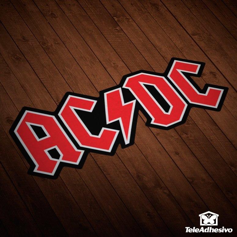 Pegatina AC/DC