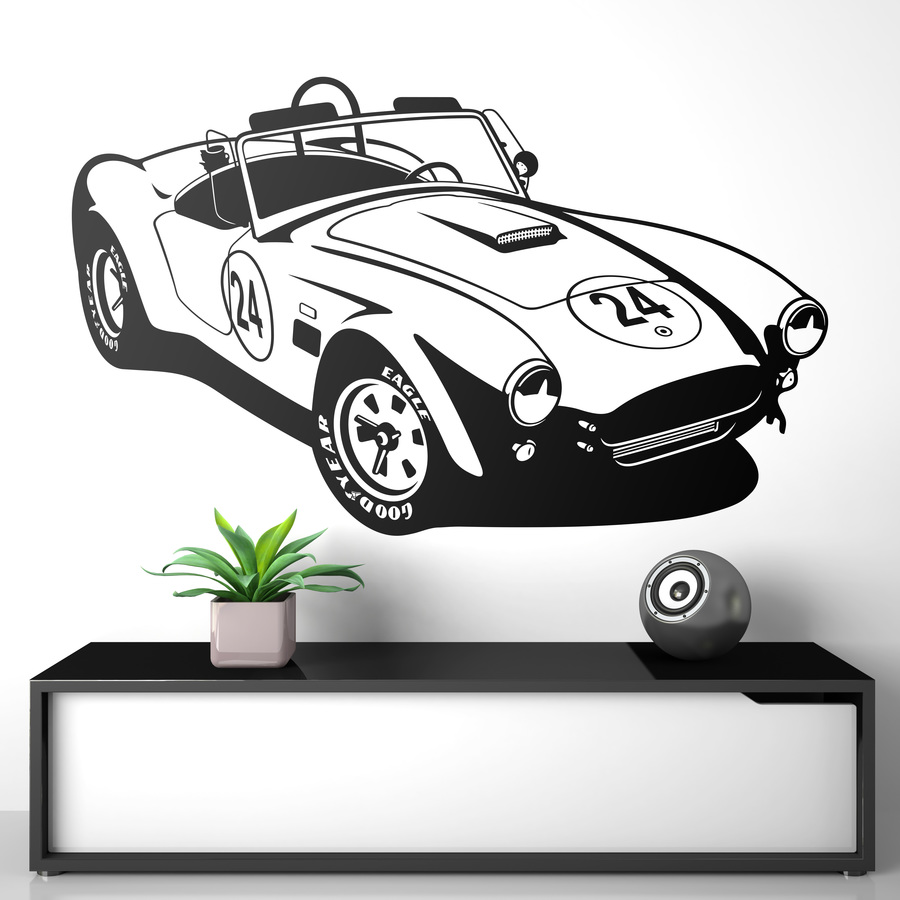 Novedad vinilo decorativo AC Cobra