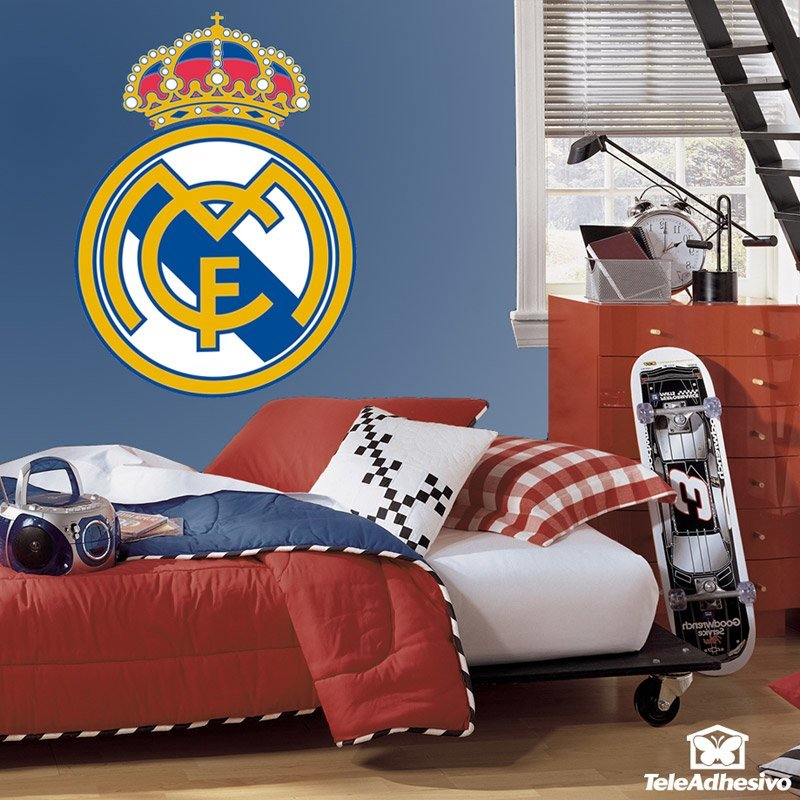 Vinilo decorativo escudo Real Madrid