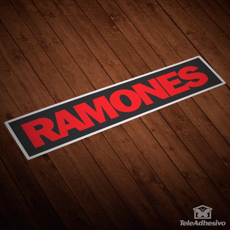 Pegatina grupo música Los Ramones