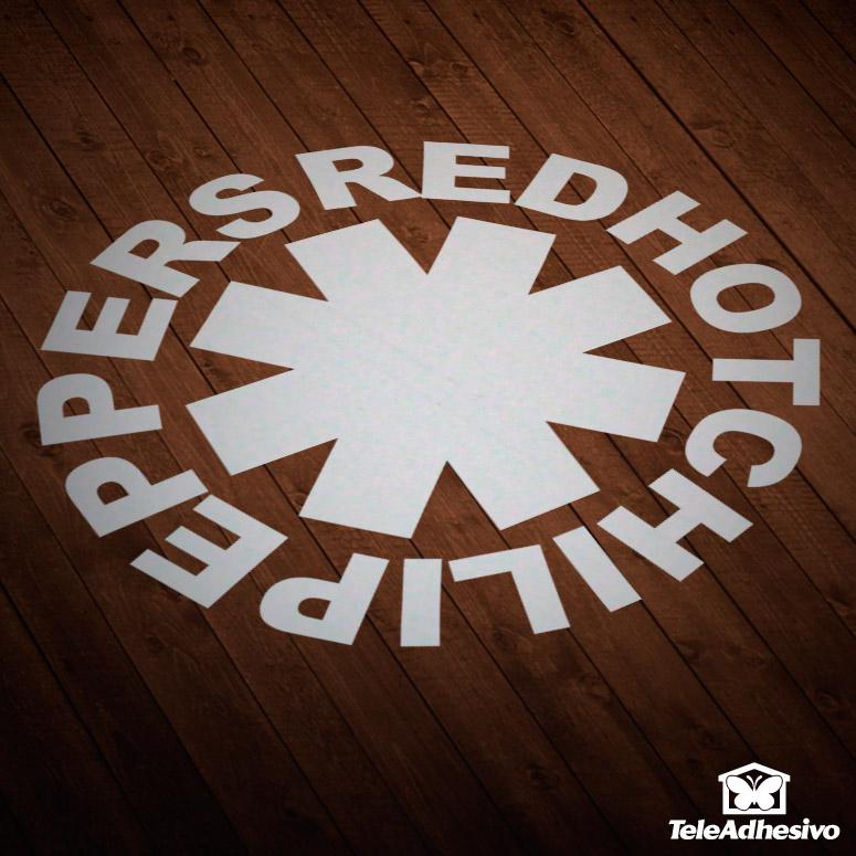 Pegatina grupo música Red Hot Chili Peppers