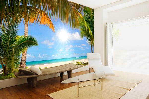 Fotomural decorativo de playa