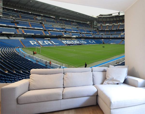 Fotomural decorativo estadio Santiago Bernabéu