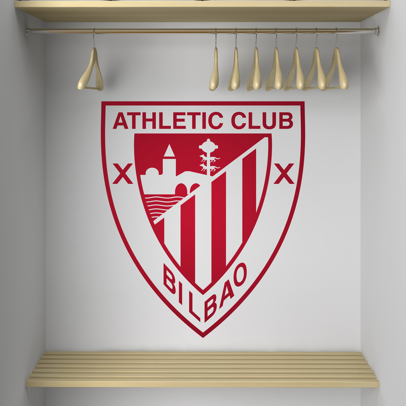 Vinilo decorativo escudo Athletic Club de Bilbao