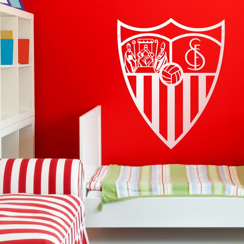 Vinilo decorativo escudo Sevilla Fútbol Club