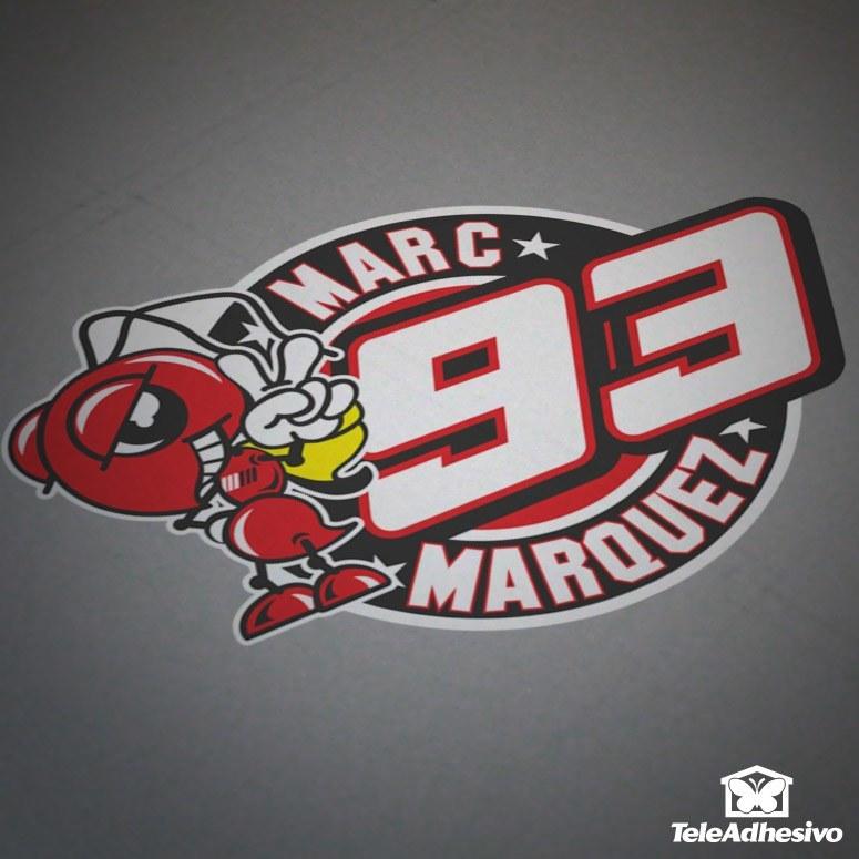 Pegatinas para coches o motos Marc Márquez