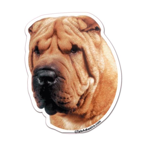 Pegatinas de razas de perros Shar Pei