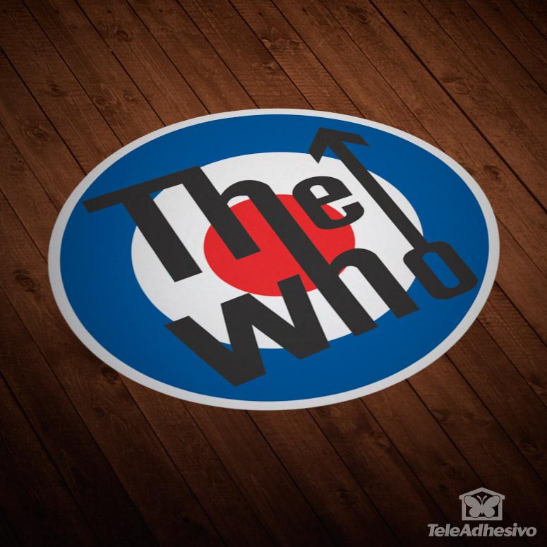 Pegatinas de grupos musicales The Who