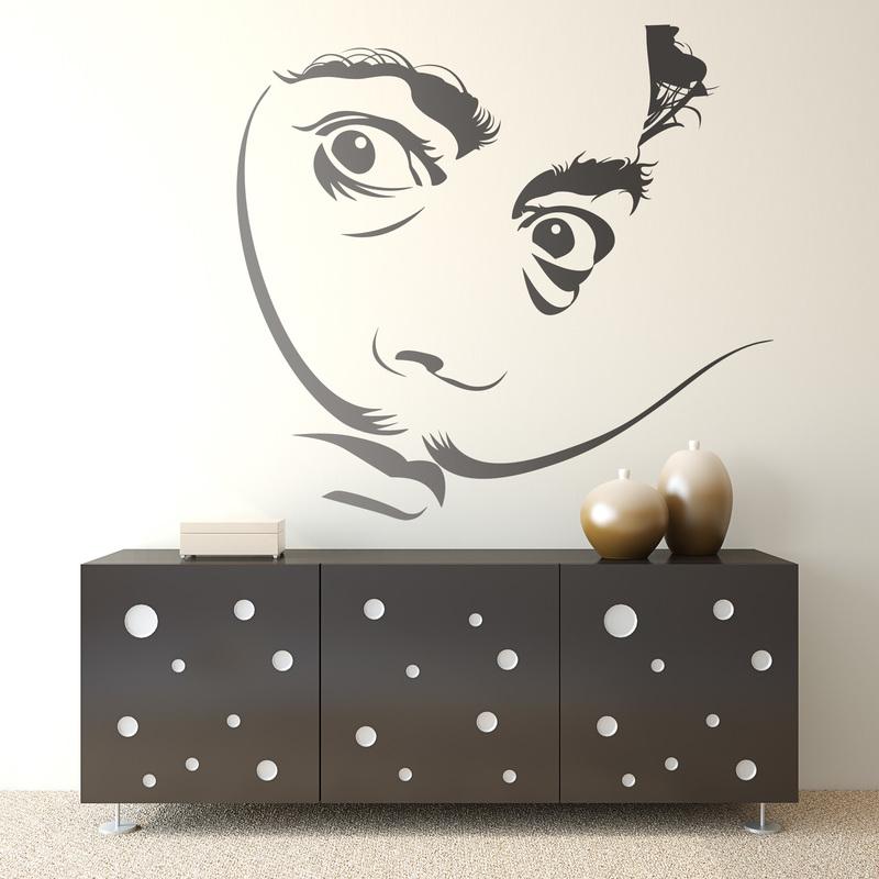 Vinilo decorativo Salvador Dalí