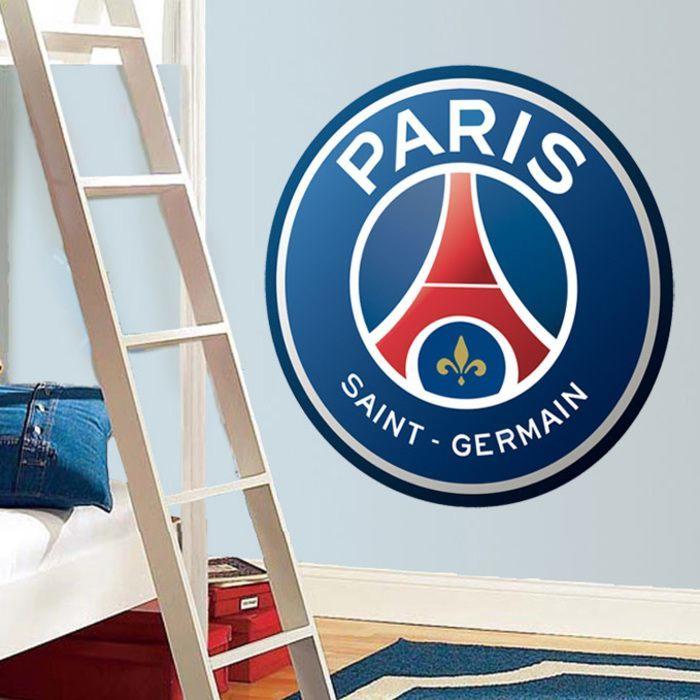 Vinilos decorativos escudo París Saint-Germain