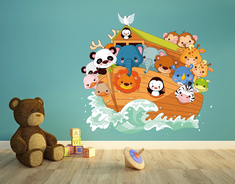Novedad vinilo infantil El Arca de Noé