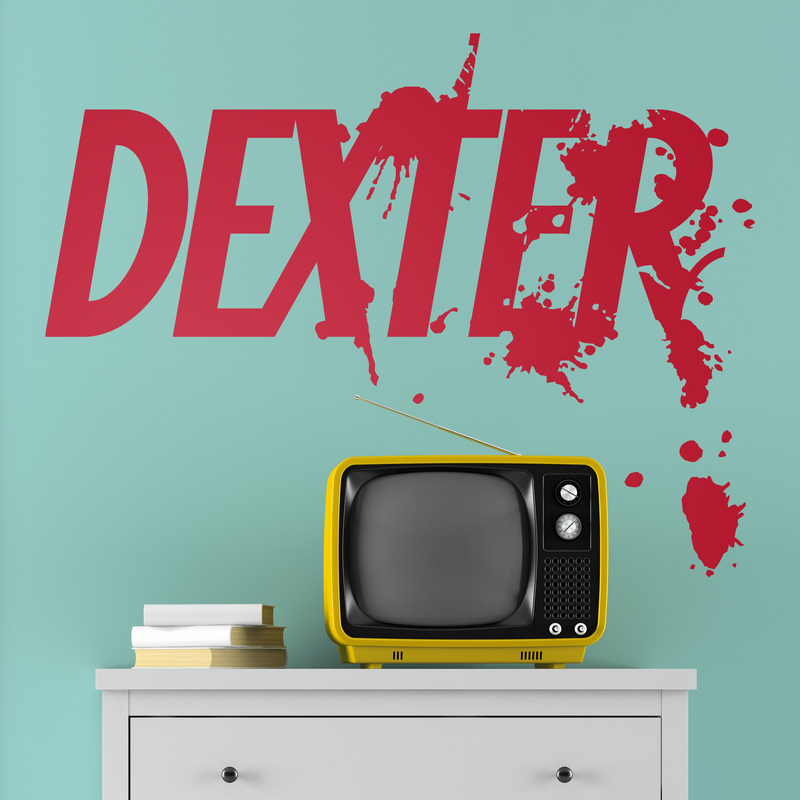 Vinilo decorativo serie TV Dexter